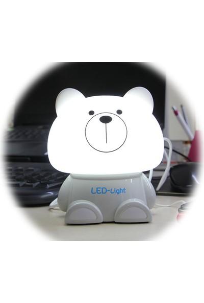 MNK Panda Figürlü Gece Lambası