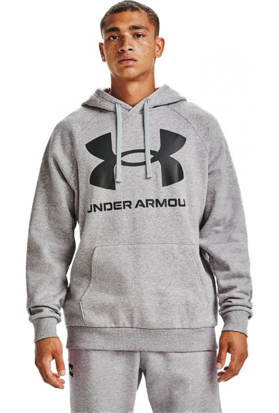 Under Armour 1357093 Ua Rival Fleece Big Logo Hd Erkek Giyim