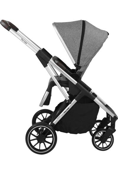 Bagi Flexfold Bebek Arabası Melange Grey