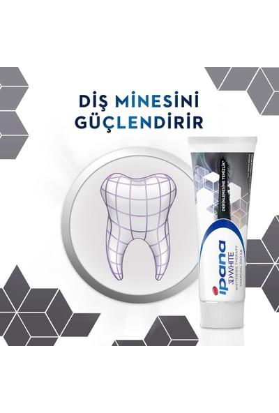 Ipana 3D White Whitening Therapy Kömür Özlü Diş Macunu 75ML