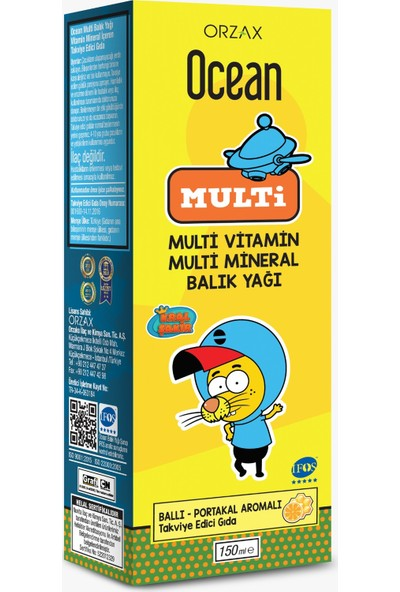 Ocean Multi Şurup 150 ml