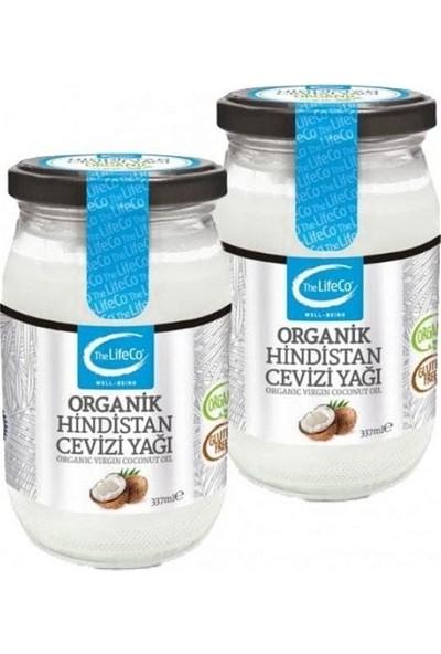 The Lifeco Organik Hindistan Cevizi Yağı 2 x 337 ml
