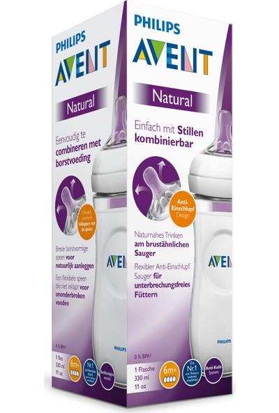 Philips Avent Natural PP Biberon 330 ml, 6ay+ SCF036/17