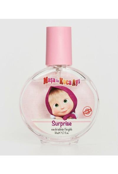 Maşa ile Koca Ayı Surprise 50 ml Pembe Edt Çocuk Parfümü