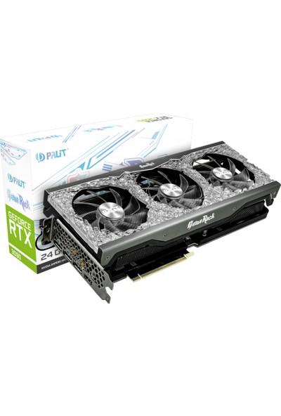 Palit Nvidia GeForce RTX 3090 GameRock OC 24GB 384Bit DDR6X DX12 PCI-Express 4.0 Ekran Kartı