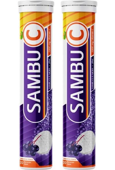 Sambu C Sambucus C Vitamini 1000 Mg x 2