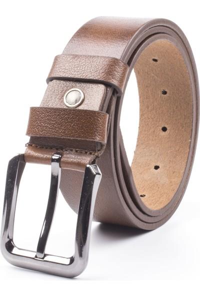 DSFSM 4 cm Spor Kot Pantolon Erkek Kemeri FSM0200 Düz-Taba