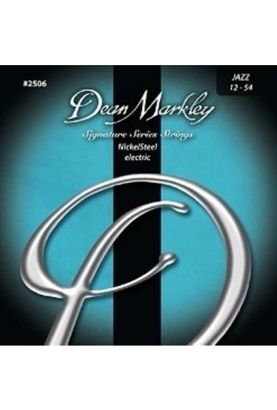 Dean Markley Nickel Steel 2506 (12-54) - Jazz Elektro Gitar Tel Seti