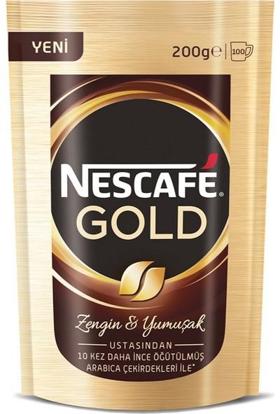 Nescafé Gold Çözünebilir Kahve 200 gr