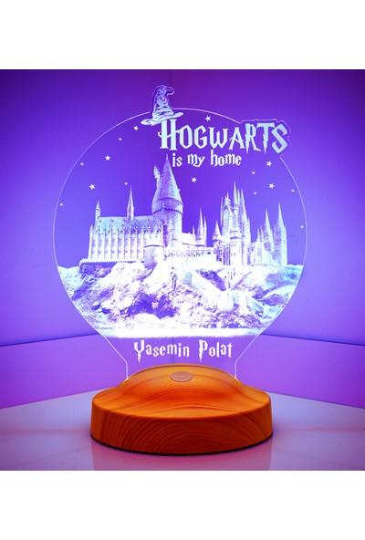 Sevgi Lambası Harry Potter Hediyesi Hogwarts LED Lamba