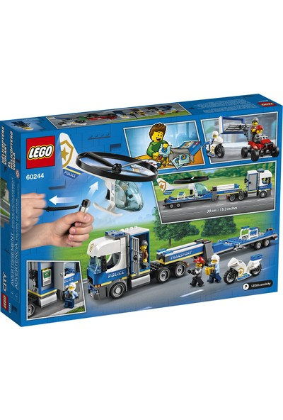 LEGO® City 60244 Polis Helikopteri Nakliyesi