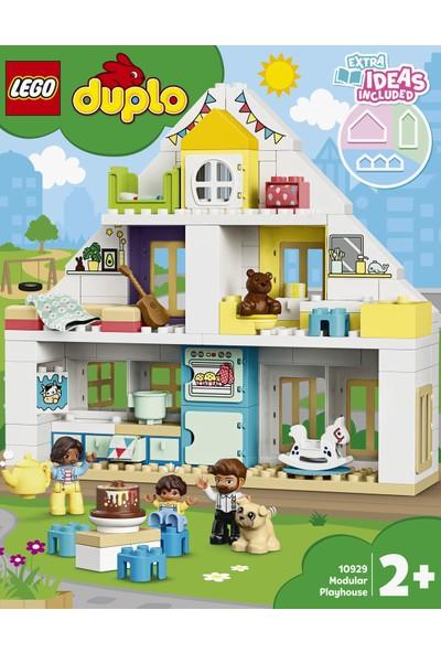 LEGO® DUPLO 10929 Kasaba Modüler Oyun Evi Yapım Seti - Okul Öncesi Çocuk için Öğretici Oyuncak