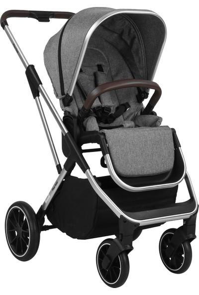 Bagi Flexfold Travel Sistem Bebek Arabası Melange Grey