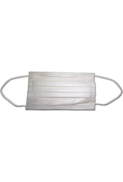 Akeso 3 Katlı Meltblown Filtreli (Type IIR) Burun Telli Cerrahi Maske 50 Adet