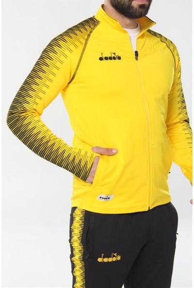 Diadora Ritim Erkek Sarı Eşofman Takımı