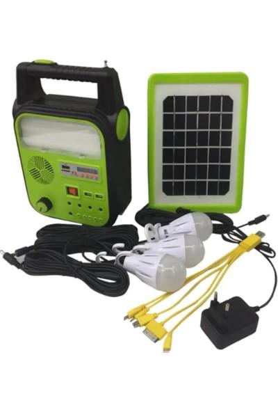 Dat 9012-B Solar Enerjili Taşınabilir Aydınlatma Cihazı
