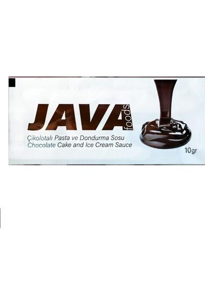 Java Foods Tek Kullanımlık Çikolatalı Pasta ve Dondurma Sosu 10 gr 50'li