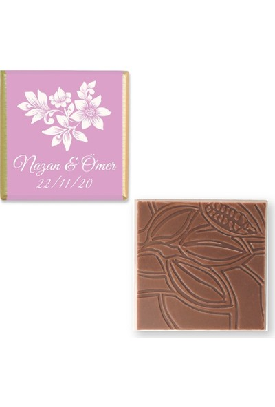 Valonia Dila Çikolata Söz Nişan Çikolatası (70 Madlen)