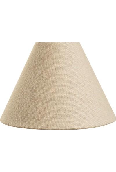 Madame Coco Lune Cone Abajur Şapkası - Bej