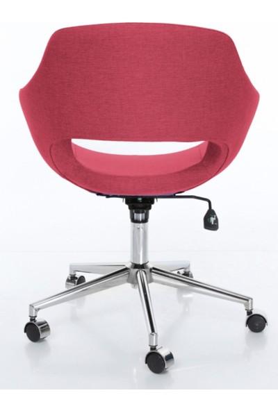 Sandalye Online Turtle Ofis Sandalyesi Pembe