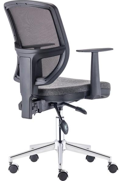 Sandalye Online Gri Ofis Sandalyesi