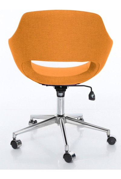 Sandalye Online Turtle Ofis Sandalyesi Turuncu