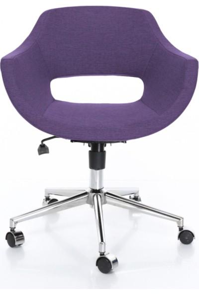Sandalye Online Turtle Ofis Sandalyesi Mor