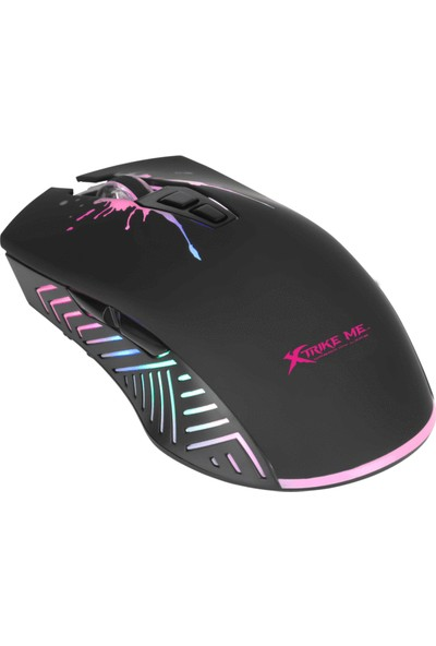 Xtrike Me GM-215 Backlit 7200DPI Makrolu Optik Oyuncu Mouse