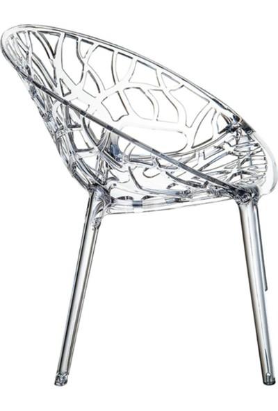 Sandalye Online Crystal Şeffaf Sandalye