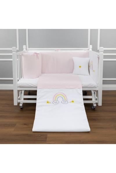 Maya Baby Rainbow Uyku Seti Pembe - 60 x 120 cm