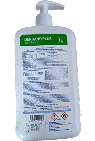 Ecolab Derhand Plus El Dezenfektanı 1 lt