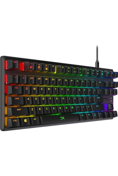 HyperX Alloy Origins Core Mekanik Gaming Klavye Red HX-KB7RDX-US