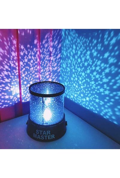 Star Master Yıldız Projektörü Gece Lambası Duvar Aydınlatma