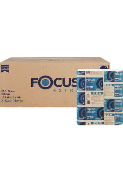 Focus Z Havlu Peçete 200 x 12'li