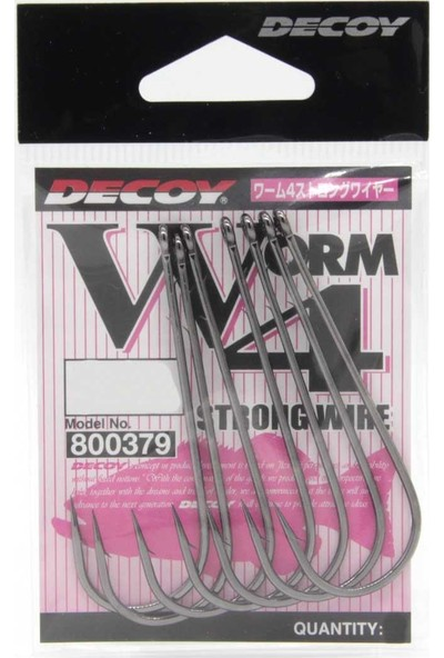 Decoy Worm4 Strong Wire Uzun Olta Iğnesi