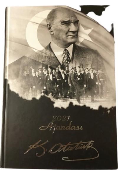 Liz 2021 Ajanda Atatürk Kuşe Kapak 17 x 24 cm