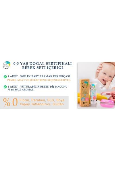 Smiley Baby Parmak Diş Fırçası + Bebek Diş Macunu Seti