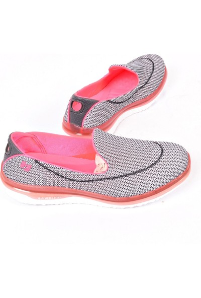 Hammer Jack Gri Comfort Kadın Spor Ayakkabı 1035