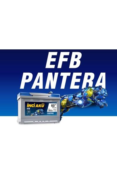 Inci 12 Volt 60 Amper Pantera Efb Start Stop Akü