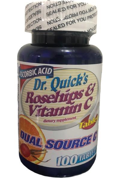 Dr. Quicks Rosehips & Vitamin C 100 Tablet