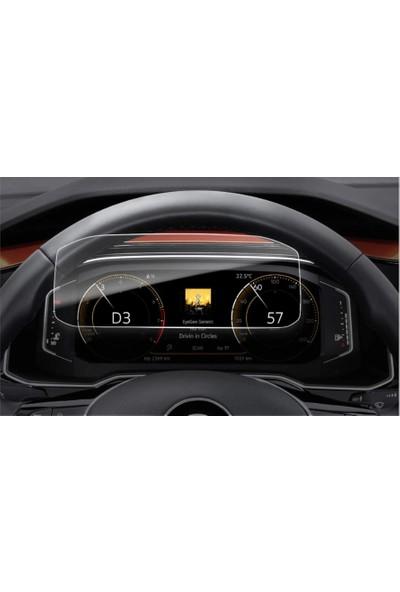 Aeltech Volkswagen Tiguan Dijital Gösterge Panel Koruyucu