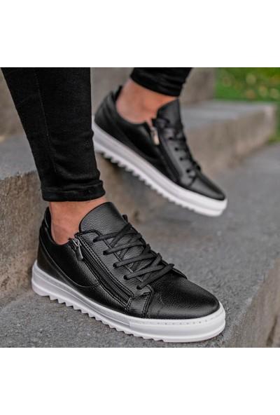 Conteyner Cnt Royal Siyah Beyaz Sneaker