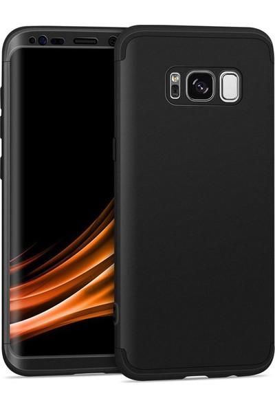 Samsung Galaxy S8 Kılıf + Ekran Koruyucu 360 Derece Tam Koruma 3 Parça GKK Ays
