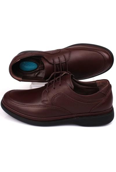 Detector Iç Dış Komple Deri Jel Tabanlı Büyük Numara Günlük Erkek Ayakkabı ŞM209-4