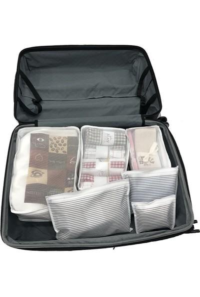 Yenimiyeni 6 Parça Bavul Içi Düzenleyici Organizer
