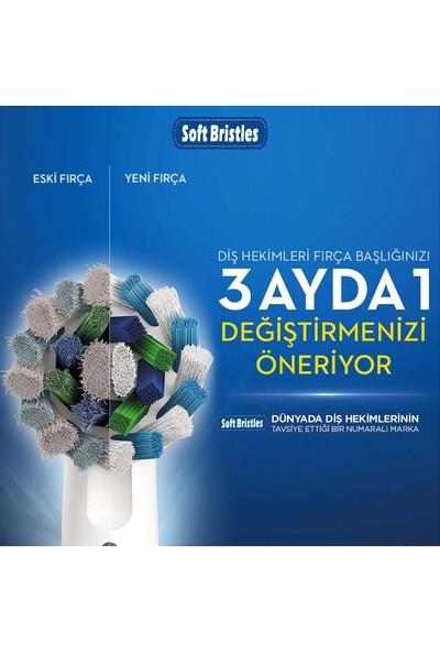 Softbristles Yedek Başlık 4'lü Paket + Sensitive Diş Macunu 90 gr