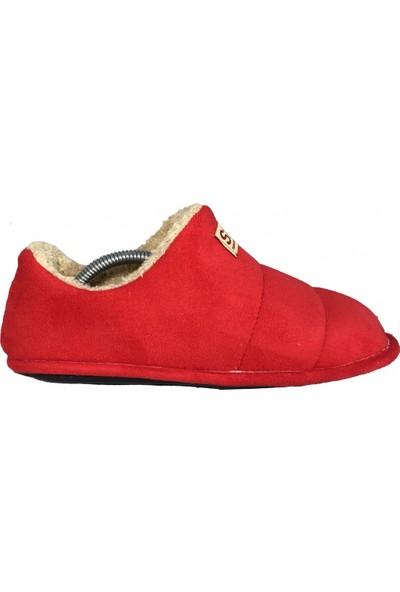 Stilobello Stilo Bello Kadın - Erkek Yünlü Ev Pandufu Botu Ev Ayakkabısı
