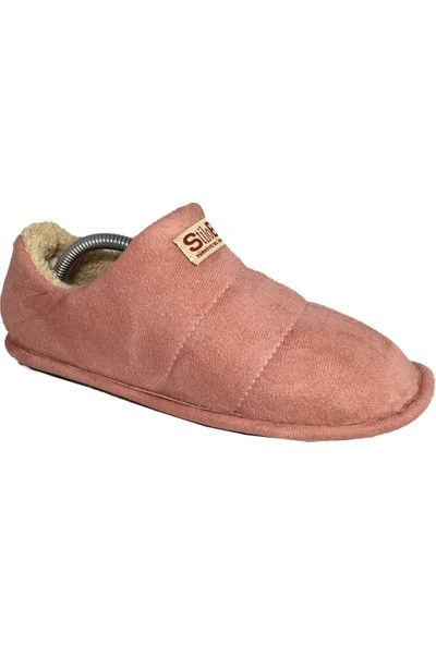 Stilobello Kadın - Erkek Yünlü Ev Pandufu Botu Ev Ayakkabısı