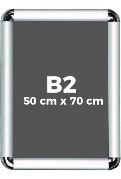 Fitfiyat B2 Alüminyum Rondo Köşe Açılır Kapanır Çerçeve 50 x 70 cm 10 Adet