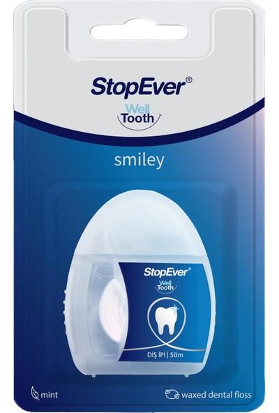 Stopever Smiley Diş Ipi 2'li